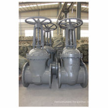 GOST cuniform cast steel large diameter valve water,oil pipe used gate valve