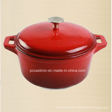 China Enamel Cast Iron Casserole Pot 3.5L