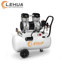 Compressor de ar dental do cilindro 1.1kw 1.5hp 30l 69.7mm mini