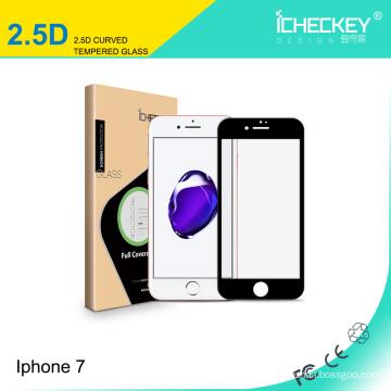 2.5D закаленное стекло-экран протектор для iPhone7 противоударная защита экрана для iPhone7