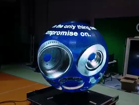Led globe display