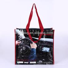 Épicure tissée réutilisable réutilisable de sac d'emballage de polypropylène de réutilisation d'Eco pour la promotion, supermarché