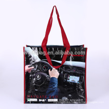 Reusable Eco Recycling Laminated Polypropylene PP Woven Shopping Tote Bag Grocery For Promotion, Supermarket