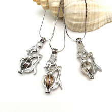 Silver Plated Creative Mermaid Fashion Jewelry Making Pearl