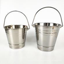 Förderung Barware Bier Wein Eiskübel / Double Wall Edelstahl Eiskübel mit Griff