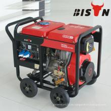 BISON CHINA TaiZhou HONDA Buen Precio Generador de Soldadura con Motor Diesel