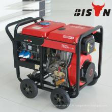 BISON CHINA TaiZhou HONDA Générateur de soudage à moteur diesel bon prix