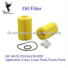 Cartridge Lube Metal Free Filter 04152-YZZA4 for Lexus, Lexus Truck,Toyota Truck.