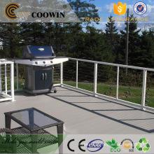 Plástico de madeira ao ar livre projetado madeira 3d pavimentação preços