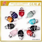 Skull Gemstone Jewelry Pendant