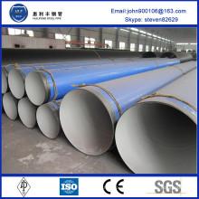 Tuyau composite en plastique acier DIN A53-A369 standard pour la transposition de pétrole et de gaz
