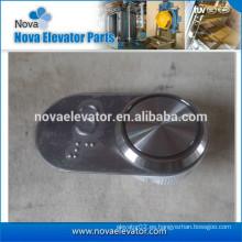 Interruptor de presión del elevador con la placa de señalización
