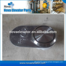 Elevator Push Switch with Signaling Plate