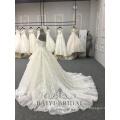 Платья Высокое Качество Атласная Свадебное Платье Бальное Платье Кружева Ремень Свадебное 2018