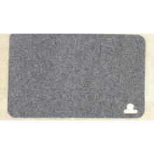 Polyester Napping Surface Tapis de porte