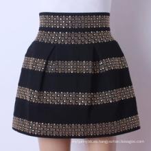 Minifalda de alta calidad de las señoras de la nueva manera al por mayor