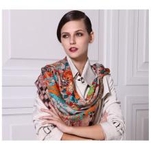 Atacado Inverno moda quente lã grande cachecol quadrado