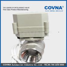Válvulas de esfera automática de 2 vias para controle automático, HVAC, tratamento de água
