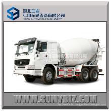 Caminhão de mistura de concreto Sinotruk HOWO 8-12cubic