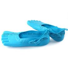 Силикон OEM доказательство воды Регулируемый пять пальцев Пляжная обувь