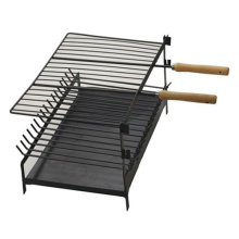mini charcoal grill with ash tray