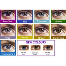 Cores de lentes de contato 12 cor extravagante