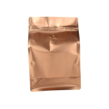 Laminated Copper Foil Coffee Bag 0.5kg with Valve