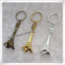 Custom Eiffel Tower Keychain Metal Key Holder, Key Chain (IO-ck099)
