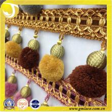 Hangzhou Taojin Textil Co. Ltd de Decoración de Sofá Pom Pom Trim