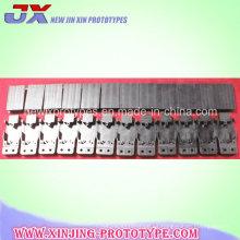 Pieza mecanizada de aluminio de los servicios de mecanización del CNC de encargo