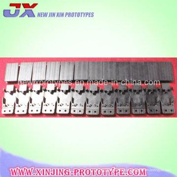 Parte feita à máquina alumínio fazendo à máquina dos serviços do CNC do costume