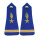 Blue Epaulettes with Button on the Top