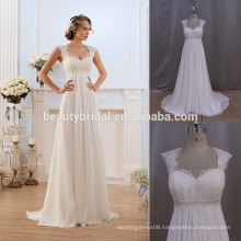 2017 hot sale chiffon bohemian wedding dress