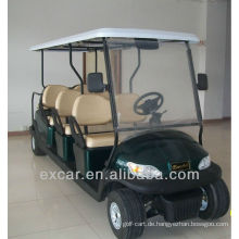 Excar 8 Sitze Preise elektrische Golfwagen, günstige Sightseeing-Bus zum Verkauf