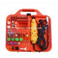 163pcs 135W Portable Hobby Mini molinillo accesorio conjunto con Flex Shaft Handheld eléctrico Rotary Drill Kit