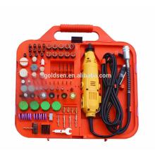 163pcs 135W Avec Flex Shaft Driver Portable Power Hobby Outils rotatifs Kit Grinder Accessoire Set Electric Mini Drill Tool