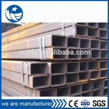 Alimentation S235 S275 S355 section creuse rectangulaire 60 * 40 tuyau en acier