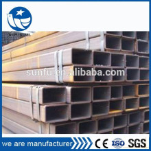 Поставка S235 S275 S355 полая секция прямоугольная 60 * 40 стальная труба