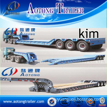 Detachable/Removable Gooseneck Trailer with Concave Beam