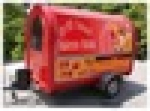 mobile commercial china food cart breakfast mobile food warmer carts food vending carts