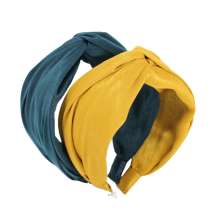 Solid Fabric Cross Broad-Brimmed Wide Elastic Hairband for Women Girl Fashion Headband Hair Accessories Dropshipping Wholesale