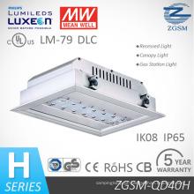 40W luz de posto de gasolina com UL/Dlc/Lm79