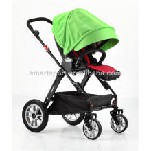 flexible baby stroller with Polyester fabric and waterproof