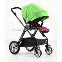 Гибкая детская коляска с полиэстеровой тканью и водонепроницаемой