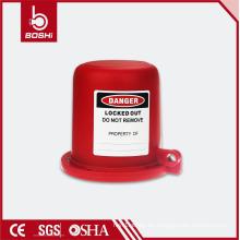 ¡Estándares compatibles con OSHA! Bloqueo de seguridad Boshi para bloqueo de la válvula de enchufe BD-F44, adecuado para el diámetro de la válvula de 55 mm a 63,5 mm