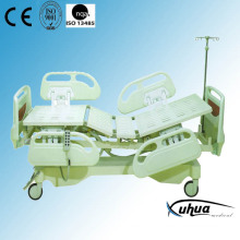 Deluxe Model, Motorized Five Functions Electric Hospital ICU Bed (XH-1)
