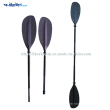 Full Carbon Zwei Stück Whitewater Paddle