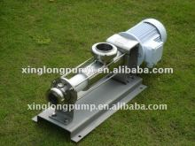 Xinglong sanitary screw eccentric pumps used in crystal sugar process