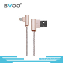 Newest Hot Sale Fiber Lightning USB Data Cable