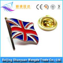 Fournisseur Bonne qualité Emblème de badge en métal personnalisé Emblème de badge de drapeau national
